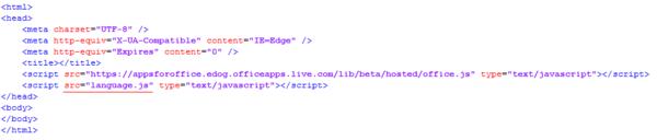 HTML-Datei anpassen