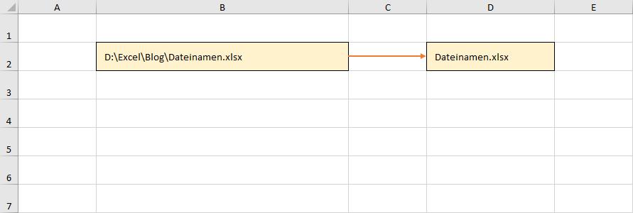 Dateinamen über dynamische Arrays ermitteln