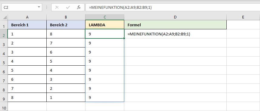 Verwenden einer benutzerdefinierten Funktion